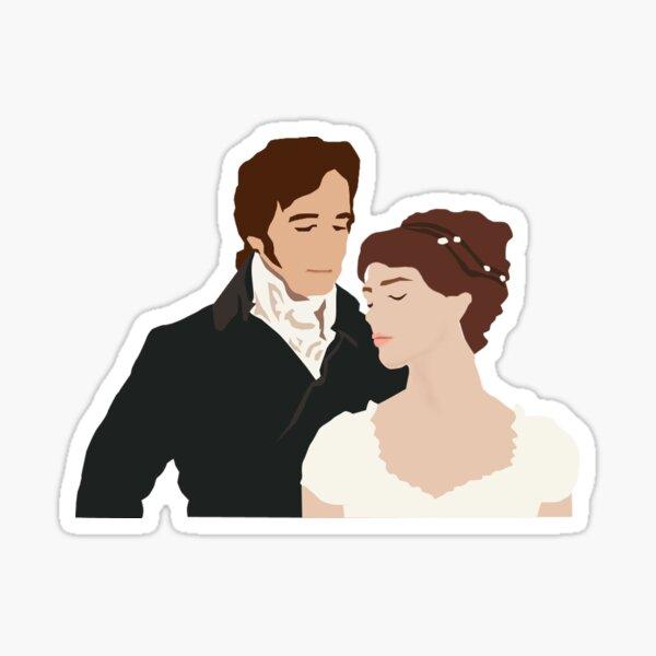 M. Darcy et Elizabeth Sticker