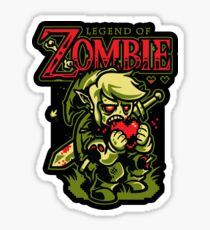 Legend of Zombie - STICKER Sticker
