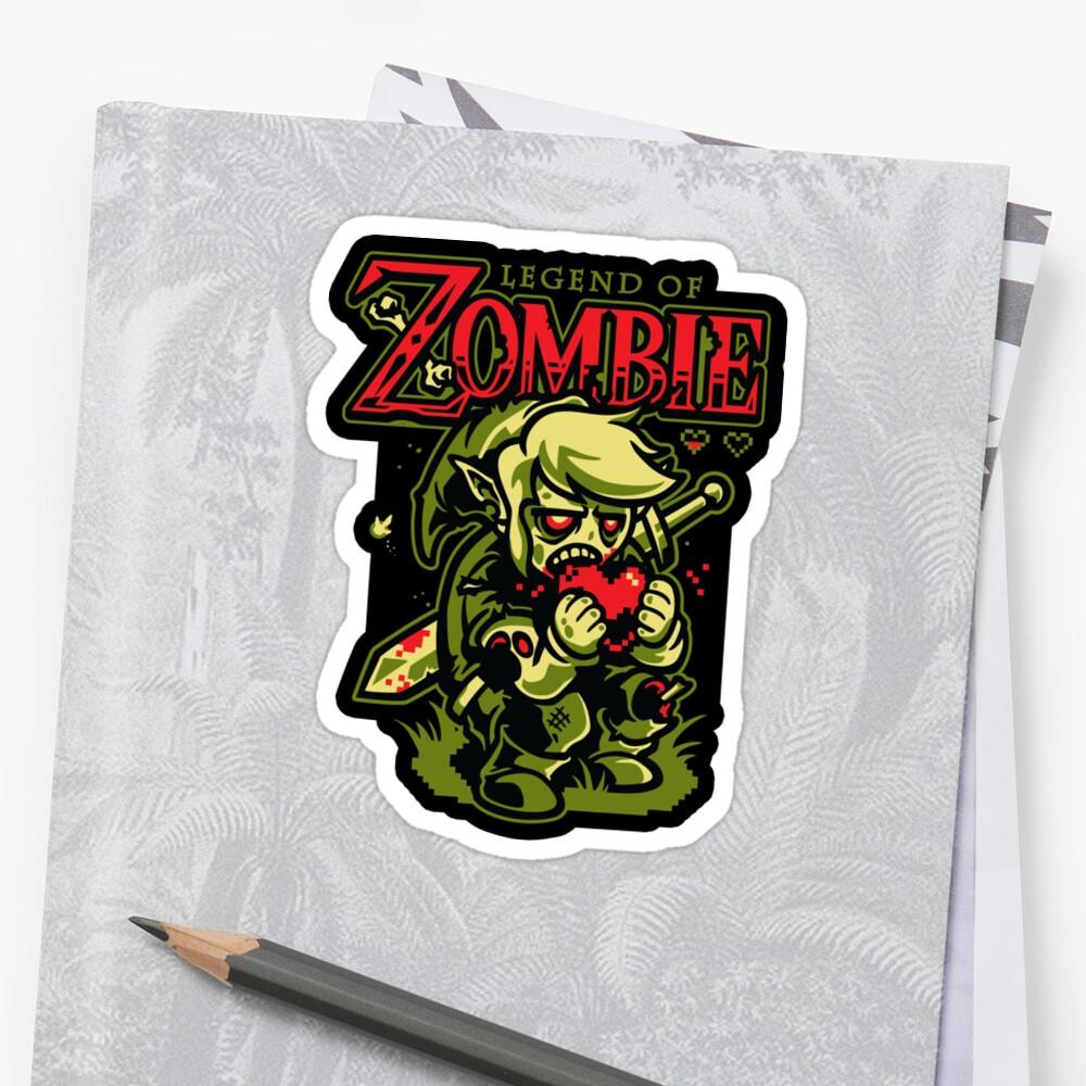 Legend of Zombie - STICKER by WinterArtwork