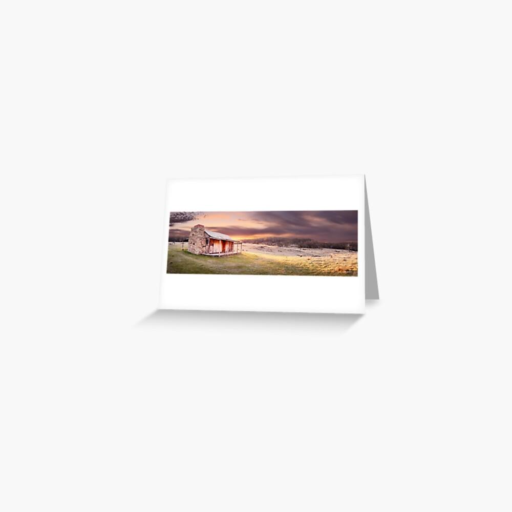 David Brayshaws Hut, Namadgi National Park, ACT, Australia Greeting Card