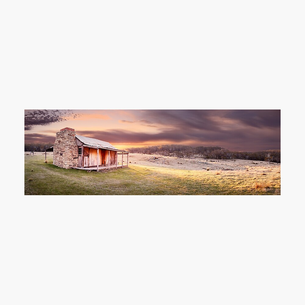 David Brayshaws Hut, Namadgi National Park, ACT, Australia Photographic Print