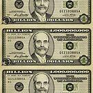 Ben Bernanke Billions Stickers by LibertyManiacs