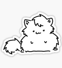 Fat Kitty Mroo Sticker