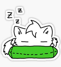 Sleepy Kitty! Sticker