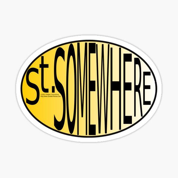 St. Somewhere Sticker