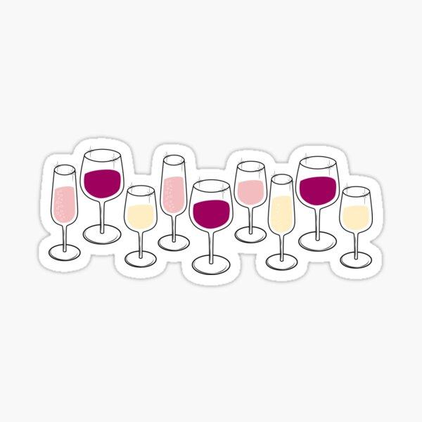Wine Time Sticker