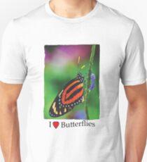 I Love Butterfllies 1 T-Shirt