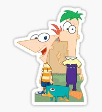 Phineas & Ferb Sticker