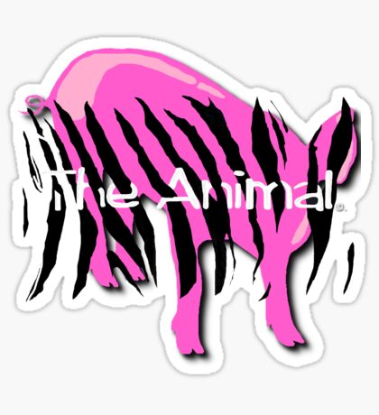 Pig - The Animal in YOU Sticker