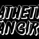 Pathetic Fangirl - Sticker Design by eltrk