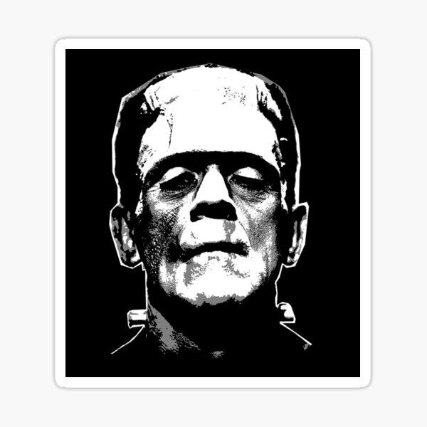 Frankenstein Sticker Sticker