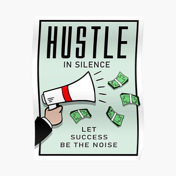 Hustle In Silence Poster