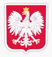 Polish Crest Sticker