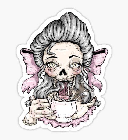 Zombie Tea Sticker