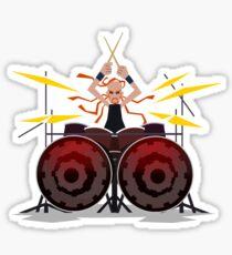 Pickles the Drummer Sticker