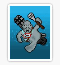 Urf, The Pixel Manatee Sticker
