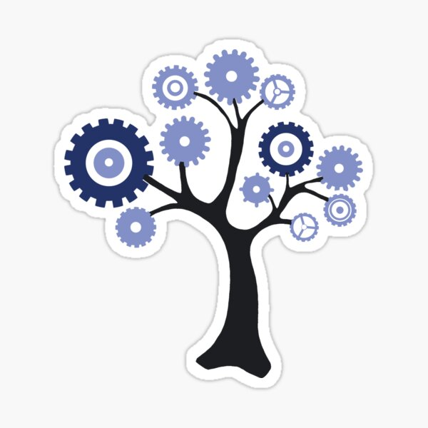 Gear Tree Sticker