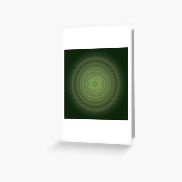 Jade Blossom Greeting Card