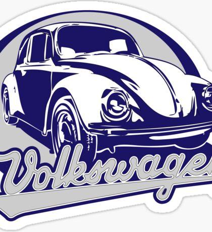 Volkswagen Beetle Sticker Sticker