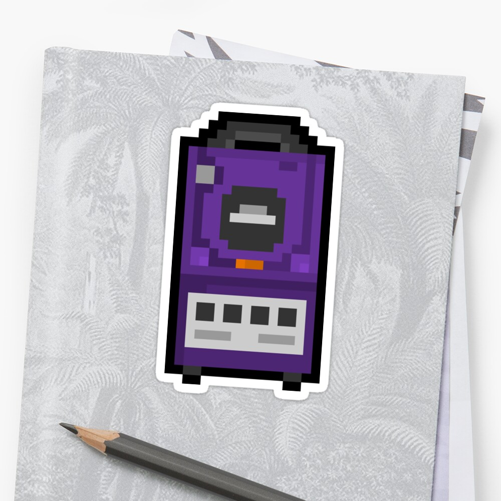 "Pixel ""GameCube"" Sticker by PixelBlock"