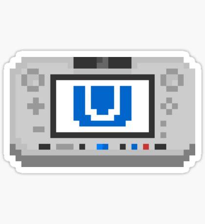 """Pixel """"Wii U"""" Sticker Sticker"""