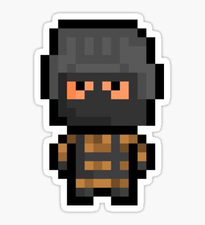 """Pixel """"Gurlukovich Soldier"""" Sticker - Metal Gear Solid Sticker"""