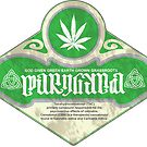 marijuana ambigram by kushcoast