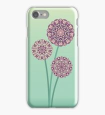 morning flowers iPhone Case/Skin
