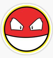 VOLTROB Pokemon Minimal Design First Generation Sticker Shirt Sticker
