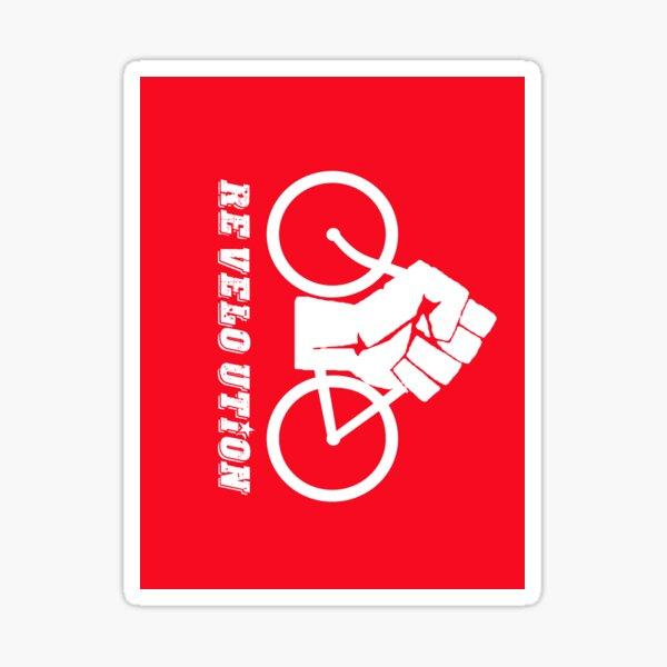 RE VELOTION Sticker