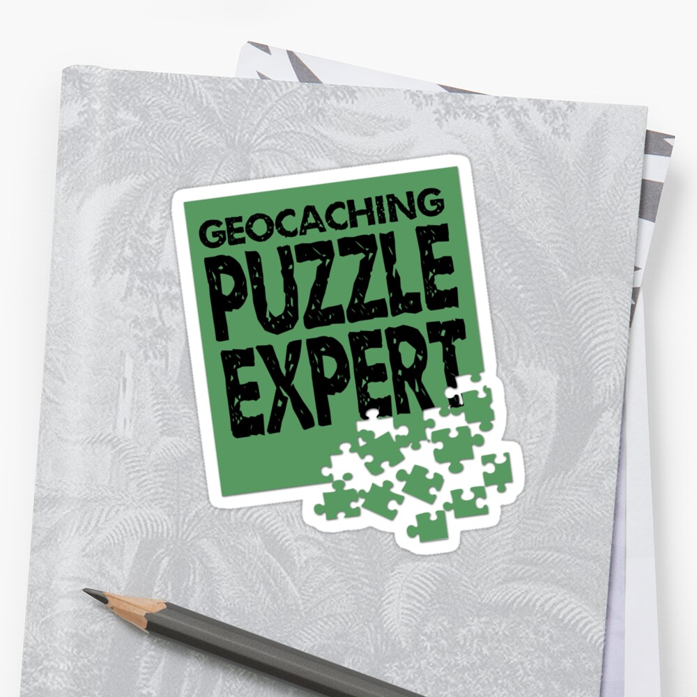 Geocaching Puzzle Expert by shakeoutfitters