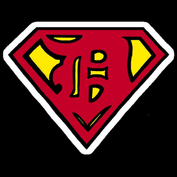 Super D (etroit) Sticker by UnderFireOften