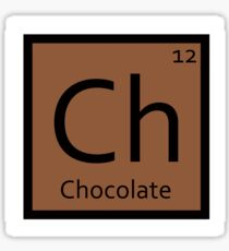Chocolate Sticker