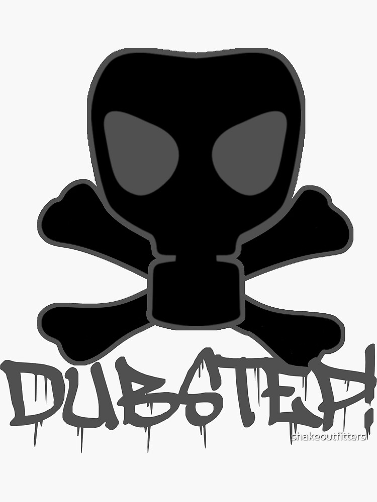 Dubstep Gas Mask Skull de shakeoutfitters