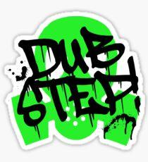 Dubstep Green Gas Mask Sticker