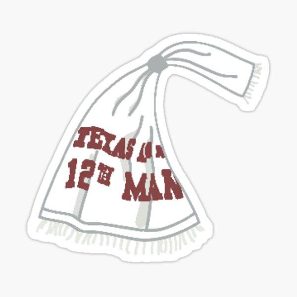 12th Man Towel Sticker