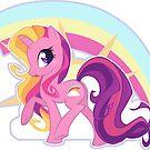 Rainbow Flash w/ Bg by EchoesLight