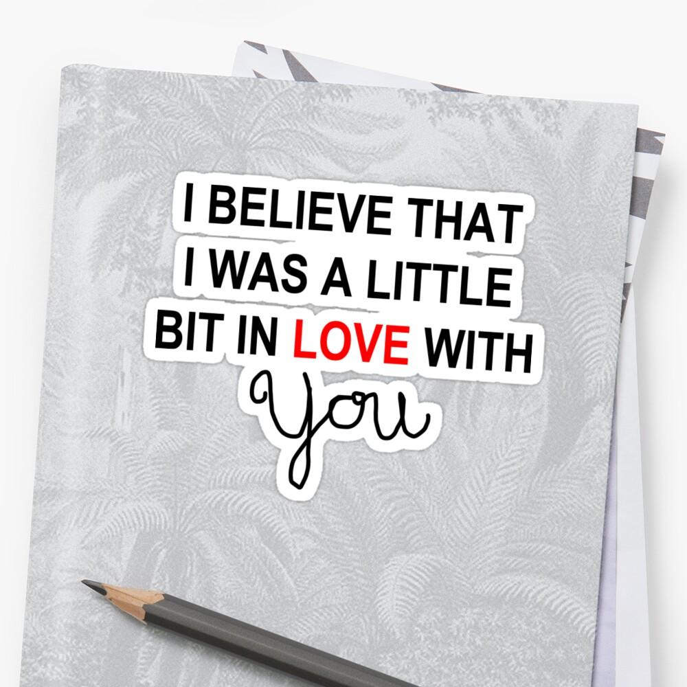 A little bit in love by bethscherm