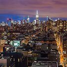 Midtown from SoHo by Randy  LeMoine