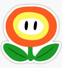 SMB Fire Flower Sticker