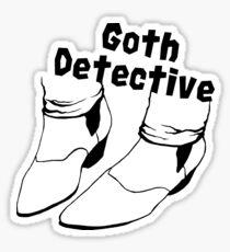 Goth Detective Sticker