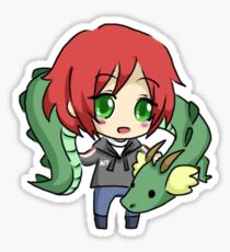 Mass Effect 3 Chibi Zodiac - Commander Shepard Sticker