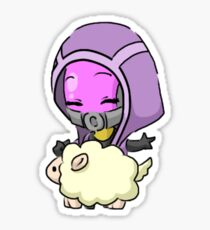 Mass Effect 3 Chibi Zodiac - Tali'Zorah Vas Normandy Sticker