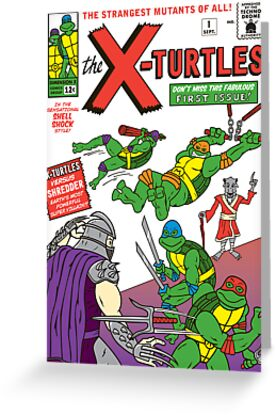 X-Turtles #1 by TheBensanity