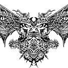 Flying Demon by Matthew Sergison-Main