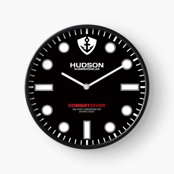 Hudson Submersibles - Horloge de montre CombatDiver Divers Horloge