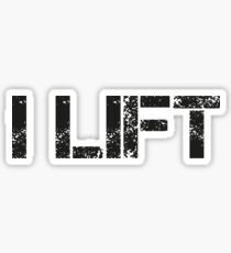 I Lift Sticker