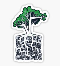 Square Root Sticker Sticker