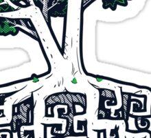 Square Root Sticker Sticker