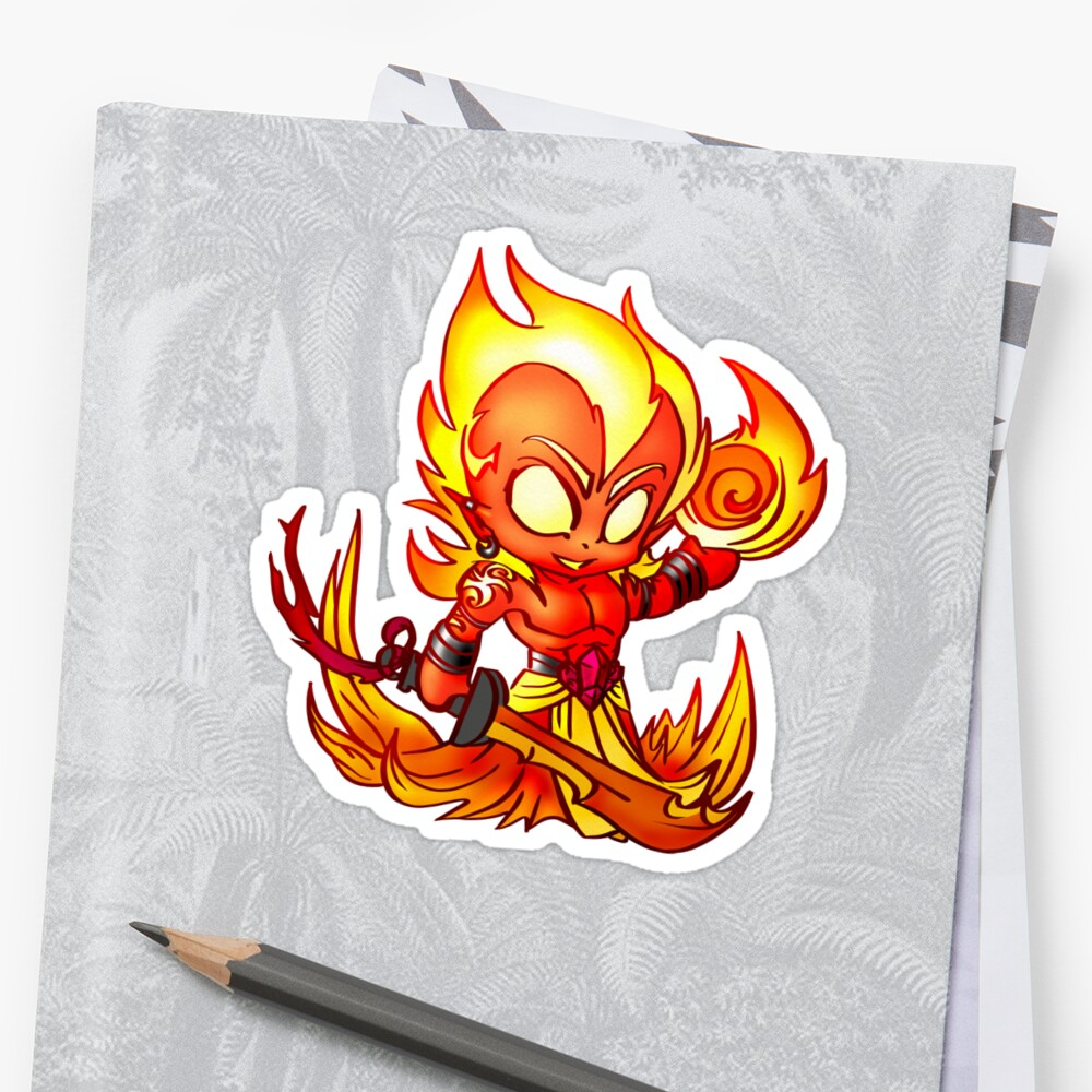 Fire Elemental by Figment Forms